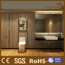 Элегантный WPC крытый настенные панели подходит для ванной комнаты