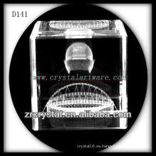 Imagen subsuperficial láser K9 3D dentro de Crystal Cube