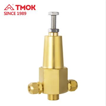 Soupape de sécurité haute pression en laiton forgé manuel TMOK