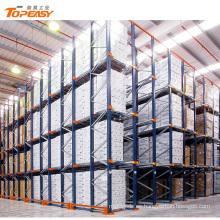 unidad de almacenamiento de almacenamiento de alta densidad ajustable en estanterías de palet