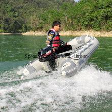 China Motor de popa 5HP Motor de 2 tempos com motor refrigerado a água