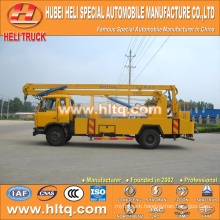 DONGFENG 4x2 HLQ5108GJKE aerial work platform lift truck 18M cheap price hot sale for sale