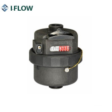 Rotary Piston Volumetric Water Meter Plastic Material