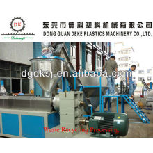 ABS-Granulat Kunststoff-Recycling-Maschine DKSJ-160 / 140A