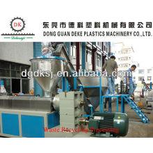 Machine de recyclage en plastique de granules d'ABS DKSJ-160 / 140A