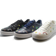 Paint Diversification Popular Colorful Black Student Casual Women Shoes