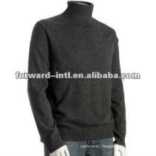 men cashmere pullover turtle neck