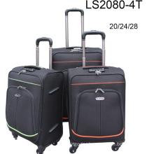 4 Universal Wheels Fabric Suitcase
