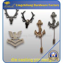 Distintivo de metal militar personalizado con Long Stick