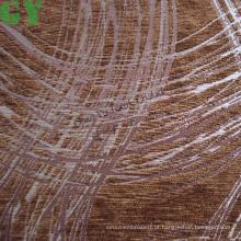 Tecido de sofá/cortina/estofa de chenille Jacquard (G44-136)