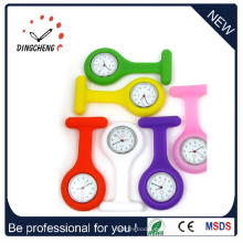 2015 Reloj de bolsillo de goma de la alta calidad del encanto de la manera EXW (DC-909)