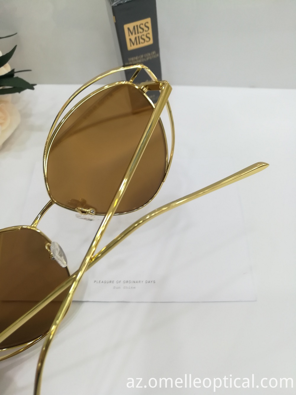 Metal Lense Sunglasses