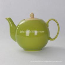 Tetera colorida de cerámica 1000cc
