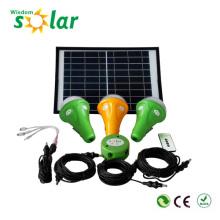 Brevet LED solaire hangar kit d'éclairage, éclairage solaire dimmable Kit, kits d'éclairage solaire pour l'éclairage intérieur