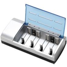 Para 4 pcs AA / AAA / D / C / 9 V bateria padrão carregador de bateria 8182