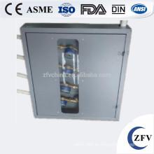 Medidor de agua de hierro fundido exterior XDO proteger tamaño de la caja