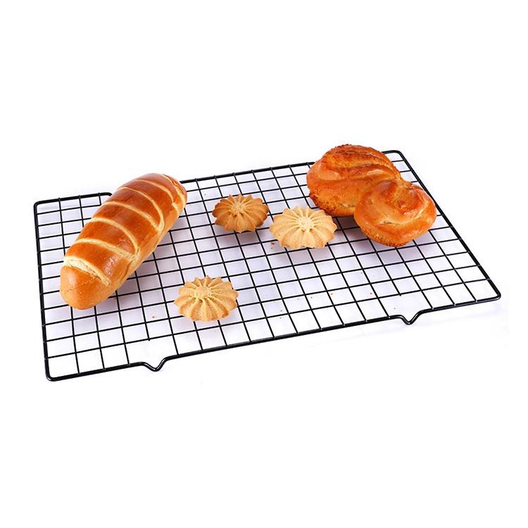 Стойка для охлаждения выпечки - 100% углеродистая сталь - Холодное печенье Пироги Хлеб - Безопасная печь для приготовления Жарение на гриле