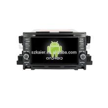 Quad core! Dvd de voiture avec lien miroir / DVR / TPMS / OBD2 pour 7inch écran tactile quad core 4.4 Android système MAZDA CX-5