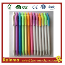 Click Gel Pen with Colorful Color