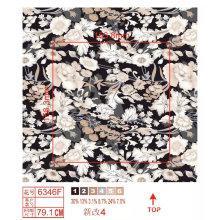 Fashion Flower Print Nylon Fabric