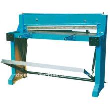 Máquina manual de corte de chapa metálica