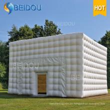 Fábrica de OEM LED partido de los acontecimientos de la boda de gran tienda de campaña de burbujas camping cúpula inflable cubo