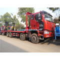 FAW 8x4 Flatbed truck