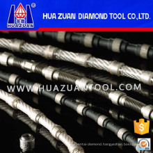 Diamond Wire Saw Rope for Concrete and Reinforced Concrete Cutting