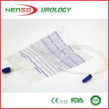Saco de drenagem de urina com válvula de parafuso (válvula de torção)