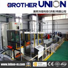Rolo de escada de cabo automático que forma a máquina, Rolo de escada de cabo auto anterior, Rolo de escada de bandeja de cabo automático que forma a máquina
