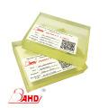 Lámina de poliuretano de poliuretano amarillo transparente de 25 mm