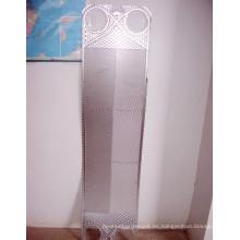 Placa de intercambiador de calor Funke Fp100 con material 304 / 316L