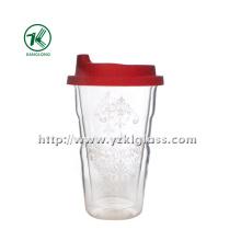 Double Wall Water Glass Bottle (9*6*14 335ml)