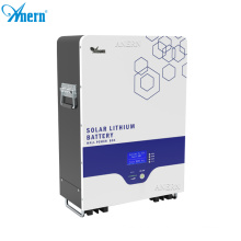 Anern lifepo4 battery cells lithium ion battery 48v 100ah