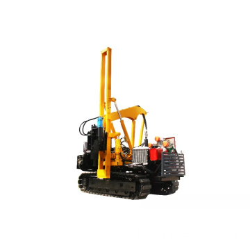 HZH-260 Mini Crawler Guardrail Pile Driver