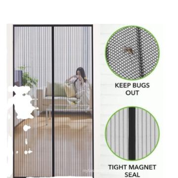 New design  anti mosquito magnetic  screen door