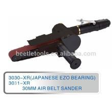 Máquina de lixar pneumática preta da correia de 30mm
