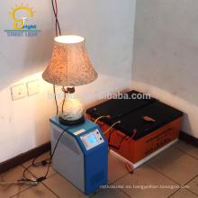Sistema de energía solar respetuoso del medio ambiente 15kw con carga del teléfono