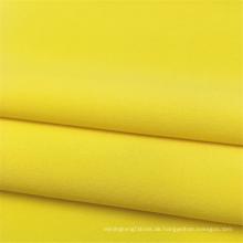 Uni 96% Polyester 4% Spandex 4-Wege-Stretchgewebe