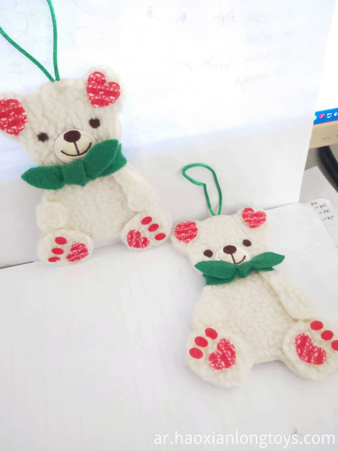 Cute Plush Bear Pendant