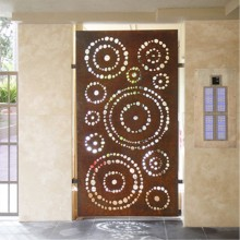 Decorative Metal Window Coverings