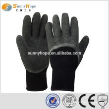 SUNNYHOPE 7 gauge preto melhor luvas de trabalho de inverno