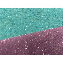Lurex Polyester Strickgewebe mit Metallgarn