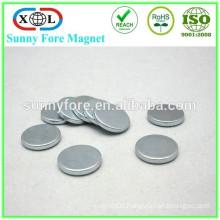 20mm zinc plated n35 disc ndfeb magnet
