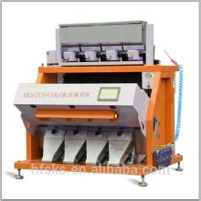 Classificador de cor de flocos de plástico digita com câmera CCD