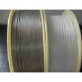 Fio Titanium da bobina do titânio do diâmetro 0.5-6.0mm Gr 4