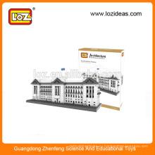 LOZ Производство оптовая Букингемский дворец алмаз строительный блок образовательные игрушки для детей