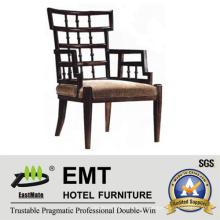 Китайский стиль деревянного кресла подлокотник (EMT-HC85)