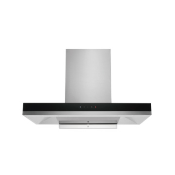 Auto Swift Black Glass Range Hood Spishäll