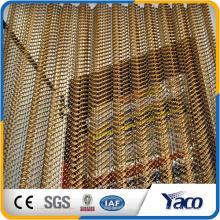 malla de alambre decorativa, techo de malla de alambre de aluminio